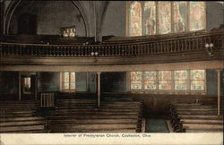 Interior of Presbyterian Church