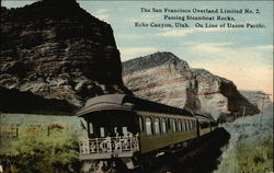 The San Francisco Overland Limited No. 2, Passing Steamboat Rocks