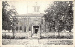 Creek Council Building - Indian Territory