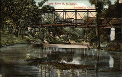 Caney River RR Bridge