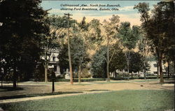 Collingwood Ave., North from Bancroft, showing Ford Residence