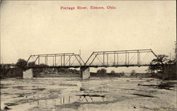 Portage River and Bridge