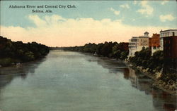 Alabama River and Central City Club