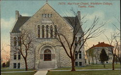 MacVicar Chapel, Washburn College
