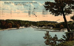 Rocky River, Showing Lakewood Yacht Club