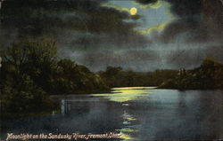 Moonlight on the Sandusky River