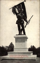 Rhode Island State Memorial, Vicksburg National Military Park