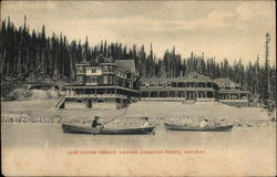 Lake Louise Chalet, Laggan, Canadian Pacific Railway