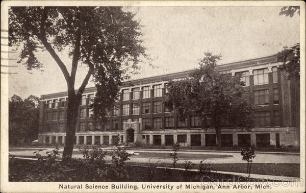 Natural Science Building, University of Michigan Ann Arbor
