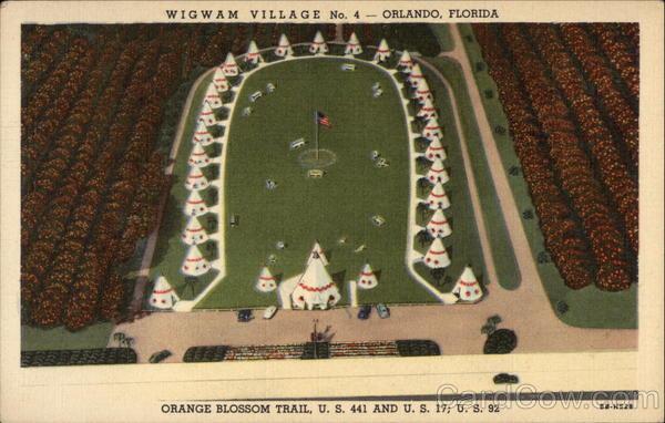 Wigwam Vilage No.4 Orlando Florida