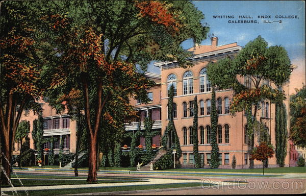 Whiting Hall, Knox College Galesburg Illinois