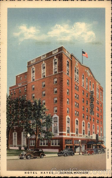 Hotel Hayes Jackson Michigan