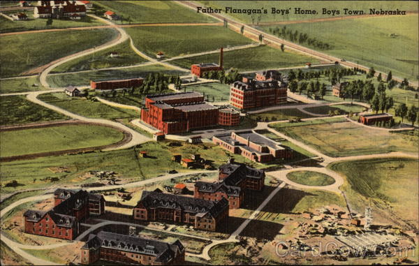Father Flanagan's Boys' Home Boys Town Nebraska