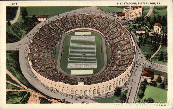 Pitt Stadium Pittsburgh Pennsylvania