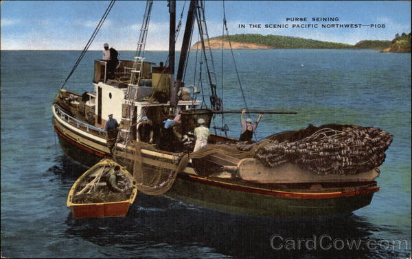 Purse Seining in the Scenic Pacific Northwest Boats, Ships