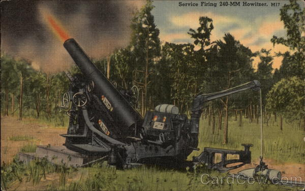 Service Firing 240-MM Howitzer, M17 Military