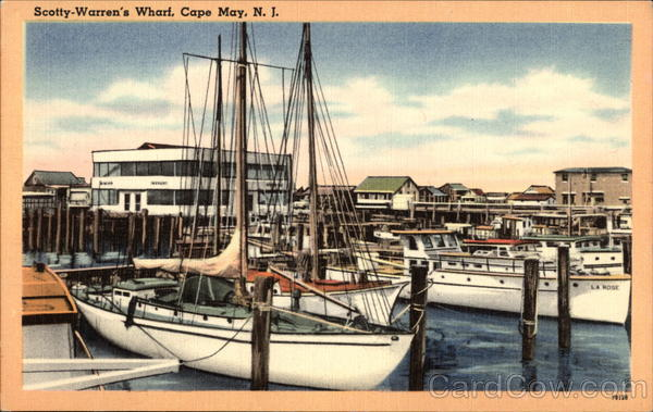 Scotty-Warren's Wharf Cape May New Jersey