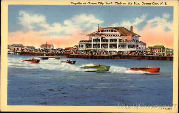 Regatta at Ocean City Yacht Club on the Bay New Jersey