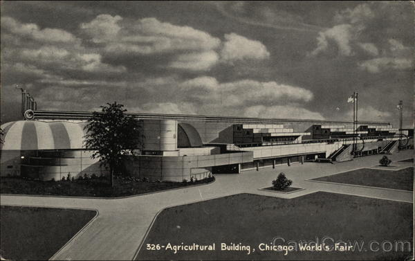 Agricultural Building Chicago Illinois 1933 Chicago World Fair