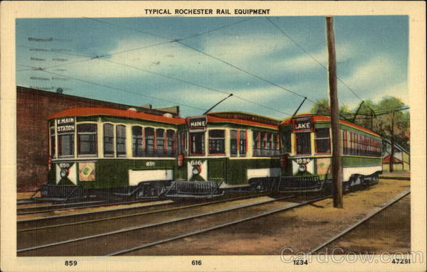 Typical Rochester Rail Equipment New York