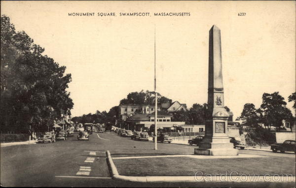 Monument Square Swampscott Massachusetts