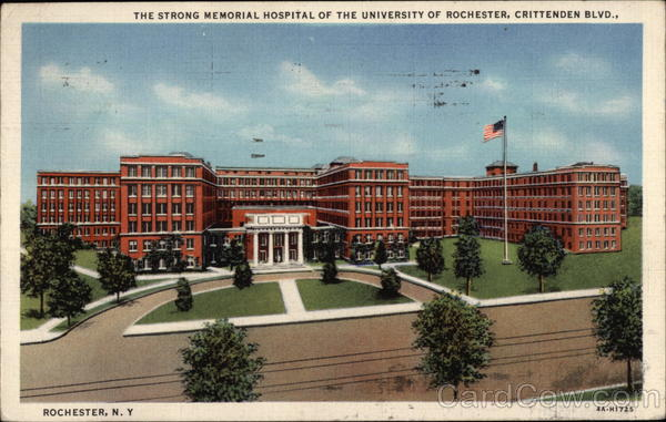 The Strong Memorial Hospital Rochester New York