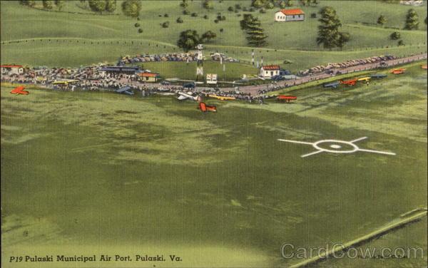 Pulaski Municipal Air Port Virginia
