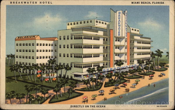 breakwater hotel miami beach  fl