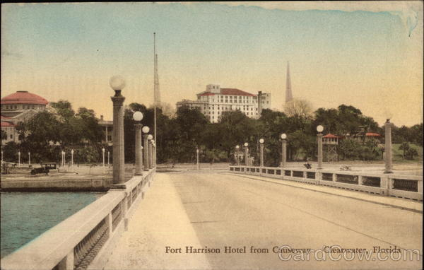 Fort Harrison Hotel from Causeway Clearwater Florida