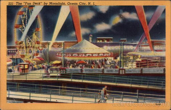 The Fun Deck by Moonlight Ocean City New Jersey