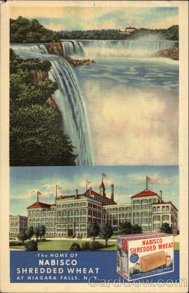 The Home of Nabisco Shredded Wheat Niagara Falls New York