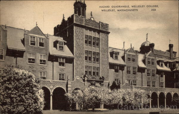 Hazard Quadrangle, Wellesley College Massachusetts