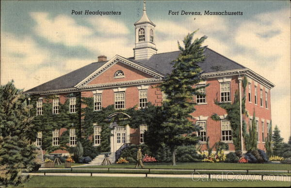 Post Headquarters Fort Devens Massachusetts