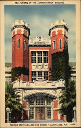 Towers of the Administration Building, Florida State College for Women