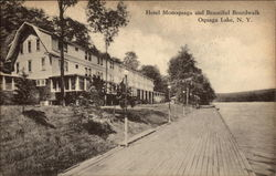 Hotel Monoquaga and Boardwalk, Oquga Lake