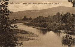 The Delaware River, Oquaga Lake