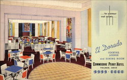 Commodore Perry Hotel - El Dorado Cocktail Lounge and Dining Room