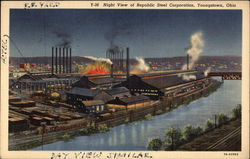 Republic Steel Corporation - Night View