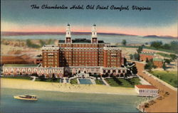 The Chamberlin Hotel Postcard