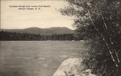 Ossipee Range and Lanes End Beach