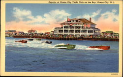 Regatta at Ocean City Yacht Club on the Bay Postcard