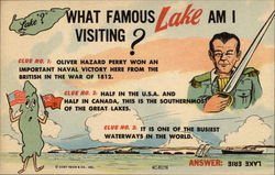 What Famous Lake am I Visiting? Postcard