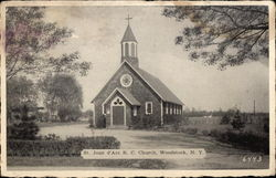 St. Joan d'Arc R. C. Church Postcard