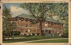 Cass County Hospital Postcard