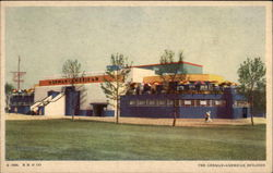 The German American Building Postcard