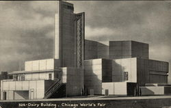 Dairy Building, Chicago World's Fair Postcard