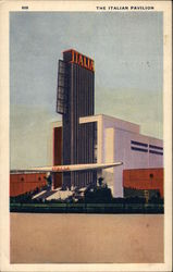 The Italian Pavilion, Chicago World's Fair, 1933 Postcard
