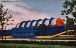 Transport Building Postcard
