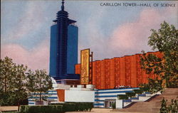 Carillon Tower - Hall of Science Postcard