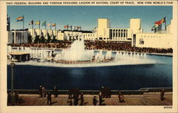 Federal Building and Foreign Pavilions, Lagoon of Nationsl, Court of Peace